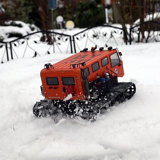 kyosho blizzard - Snowcat